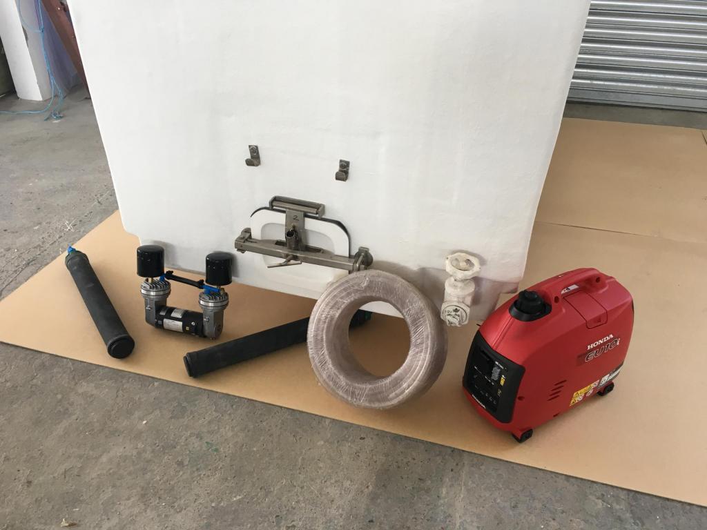 Aeration with generator
