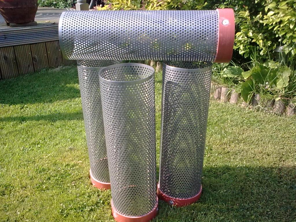 Cylindrical screens